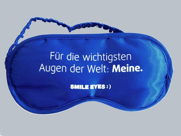 schlafmasken smile eyes