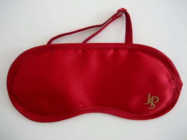 schlafmasken john player mit eingefärbtem gummiband
