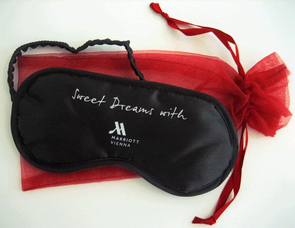 schlafmasken marriott organzabeutel