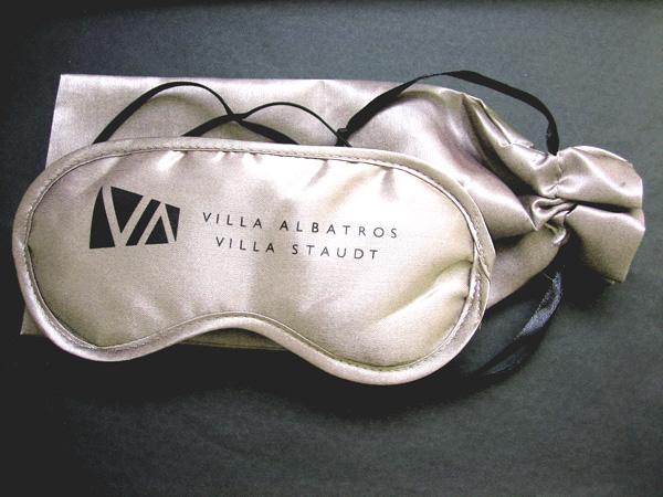 schlafmasken villa albatros satinbeutel