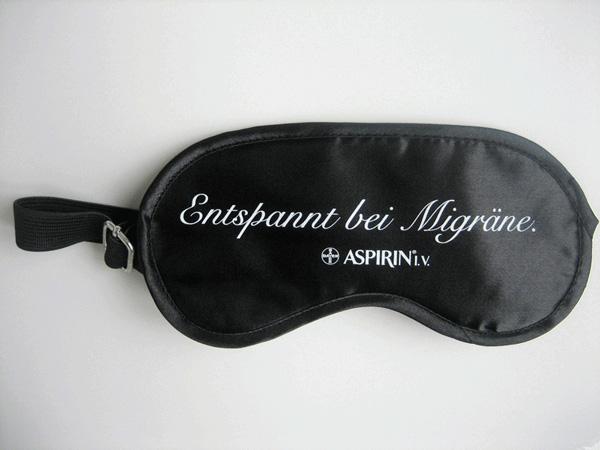 schlafmaske aspirin